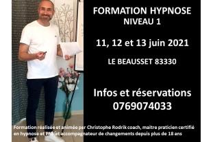 Formation Hypnose niveau 1...